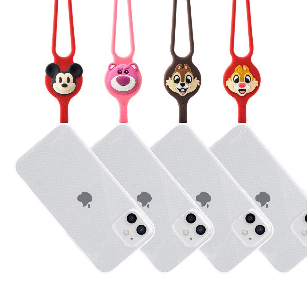 Bone 頸掛 iPhone 12 / 12 Pro 透明手機殼