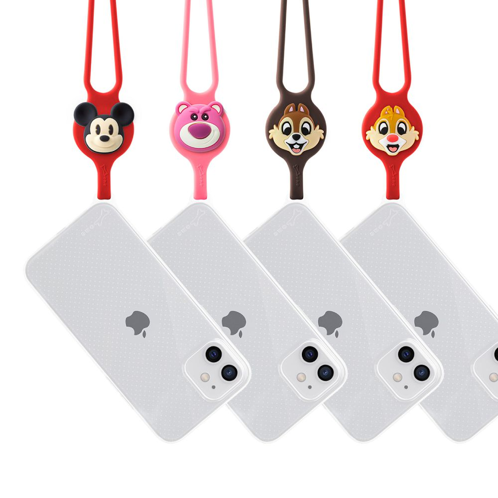 Bone|頸掛 iPhone 12 Pro Max 透明手機殼