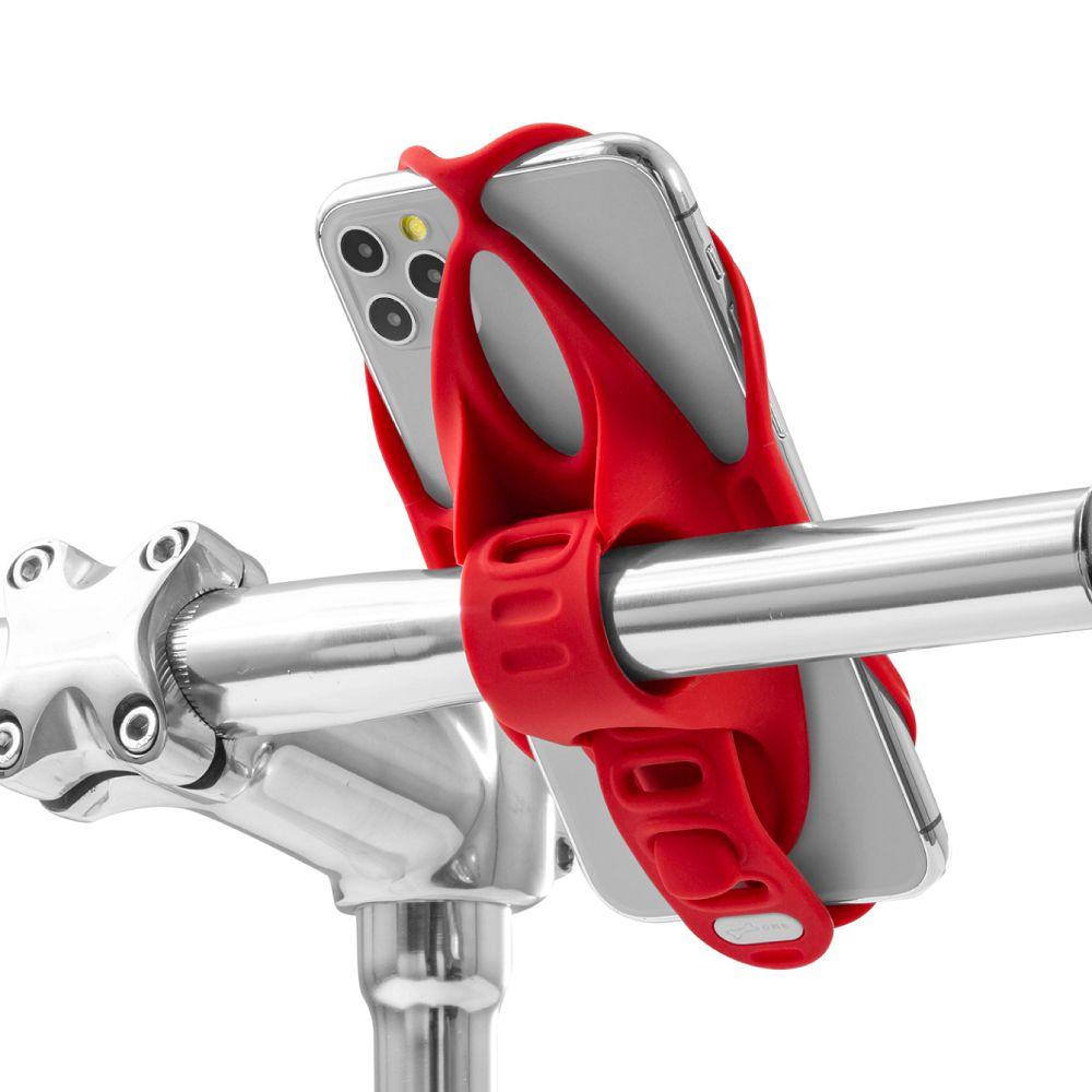 Bone 單車手機綁 手機架 第四代 Bike Tie 4 - 紅色