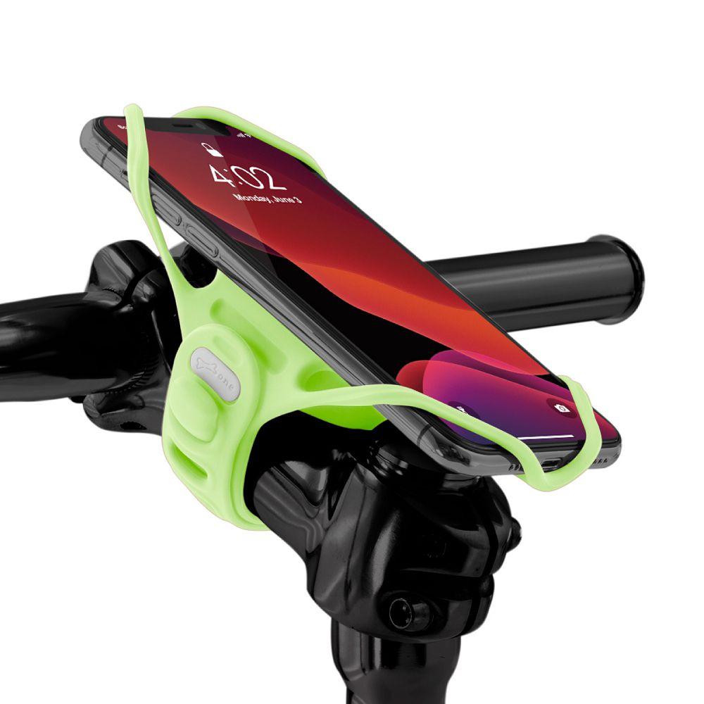 Bone 單車手機龍頭綁 手機架 第四代 Bike Tie Pro 4 - 夜光綠