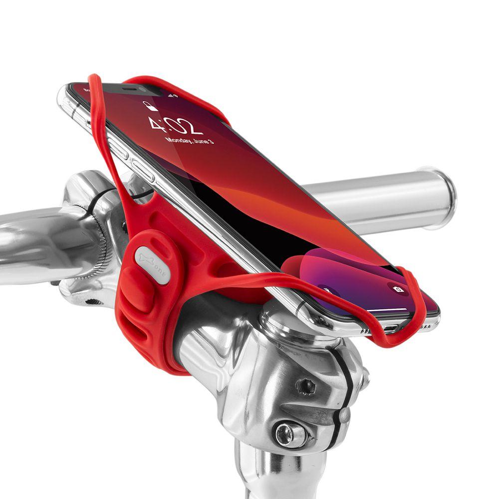 Bone 單車手機龍頭綁 手機架 第四代 Bike Tie Pro 4 - 紅色