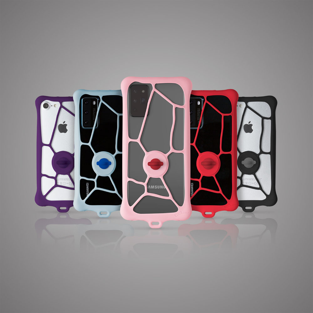 Bone 泡泡綁二代通用型手機保護套 (適用4~7.2吋)