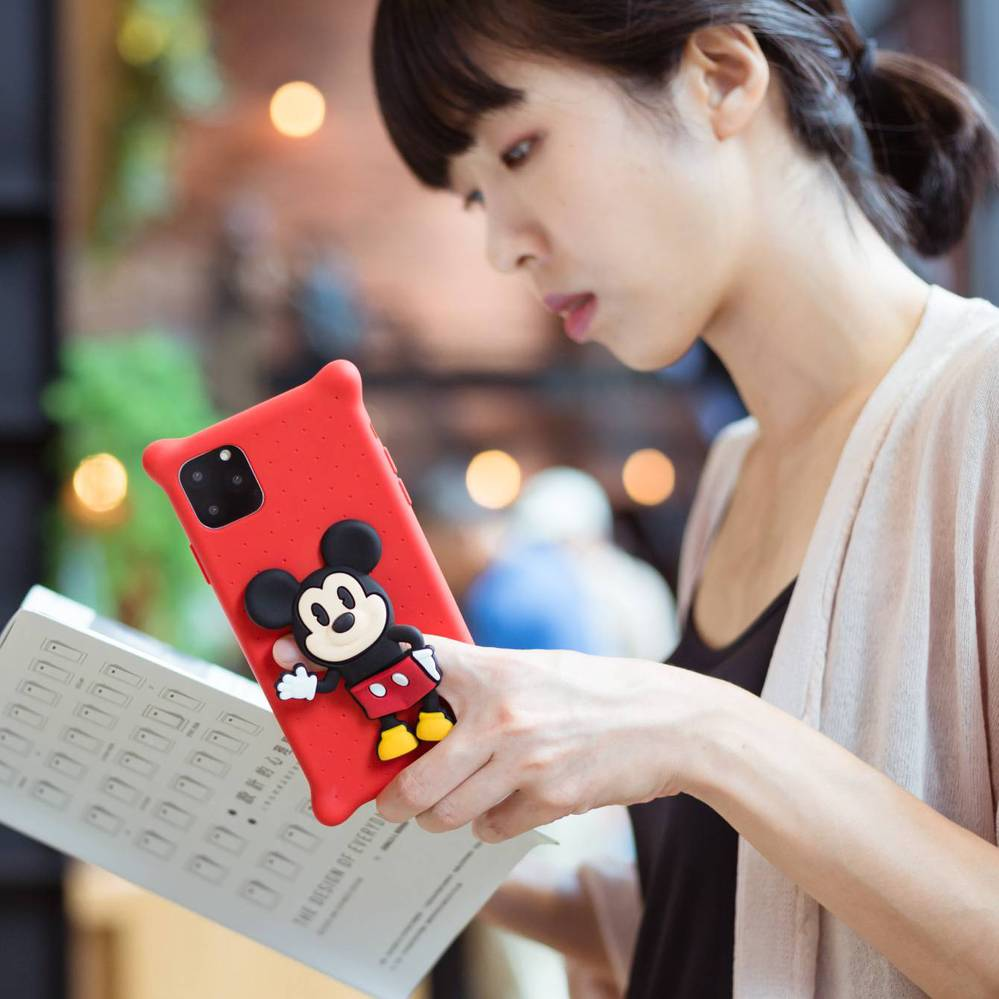 Bone iPhone 11 Pro Max 公仔泡泡保護套 - 米奇