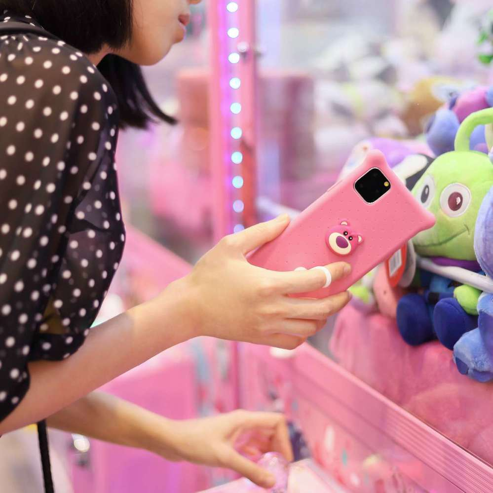 Bone iPhone 11 Pro Max 泡泡保護套 - 熊抱歌
