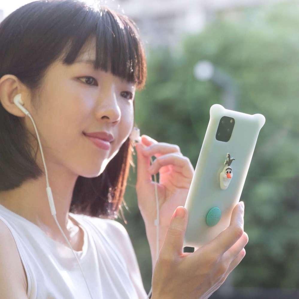 Bone|iPhone 11 Pro Max 泡泡保護套 - 雪寶