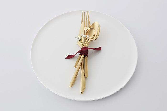 (複製)JIA Inc.|書法系列-西式餐具4件組PVD(玫瑰金)