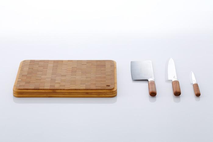 JIA Inc.|竹華 不鏽鋼中式菜刀