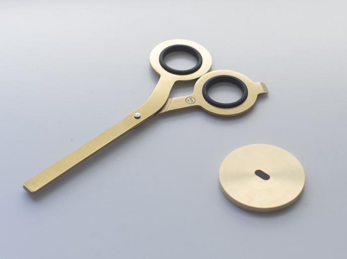 HMM|反正剪刀(含專屬底座) -金色