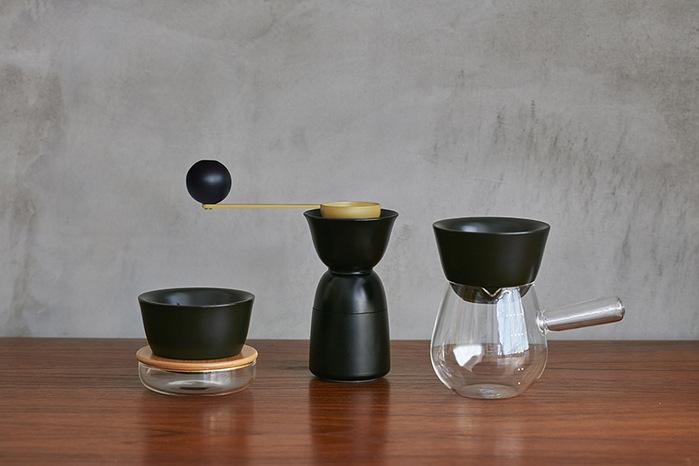JIA Inc.|手沖咖啡 雙層陶瓷濾杯-V型濾杯V01