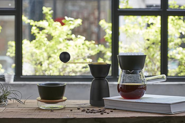 JIA Inc.|手沖咖啡 濾杯+杯座組合 (蛋糕杯型W01)