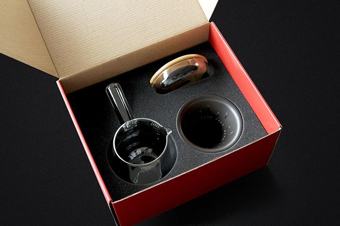 JIA Inc.|手沖咖啡 全套禮盒組(V型濾杯)