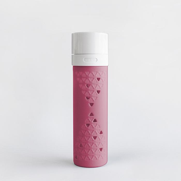(複製)SANS|真空果汁玻璃瓶480ml (薄荷綠)