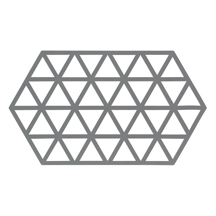 ZONE 幾何系列TRIVETS鍋墊/隔熱墊(冷調灰)