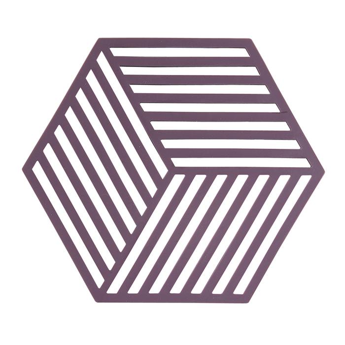 ZONE|菱型系列鍋墊/隔熱墊(條紋紅菜頭)