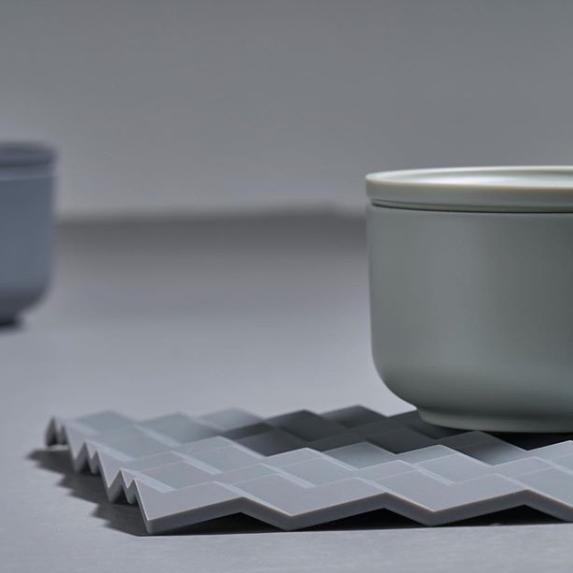 ZONE|折紙系列鍋墊(冷調灰)