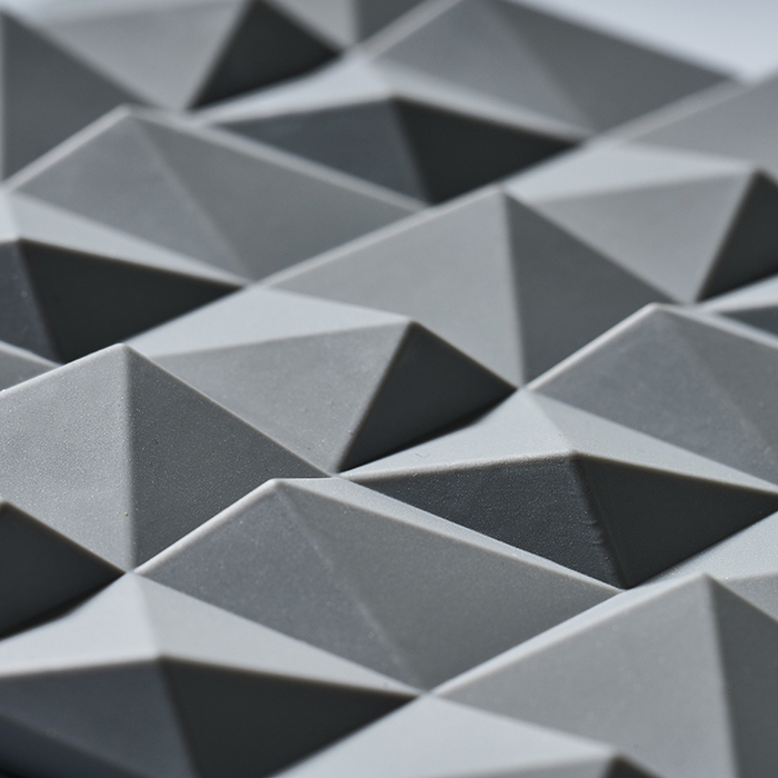 ZONE|折紙系列FOLD鍋墊(冷調灰)