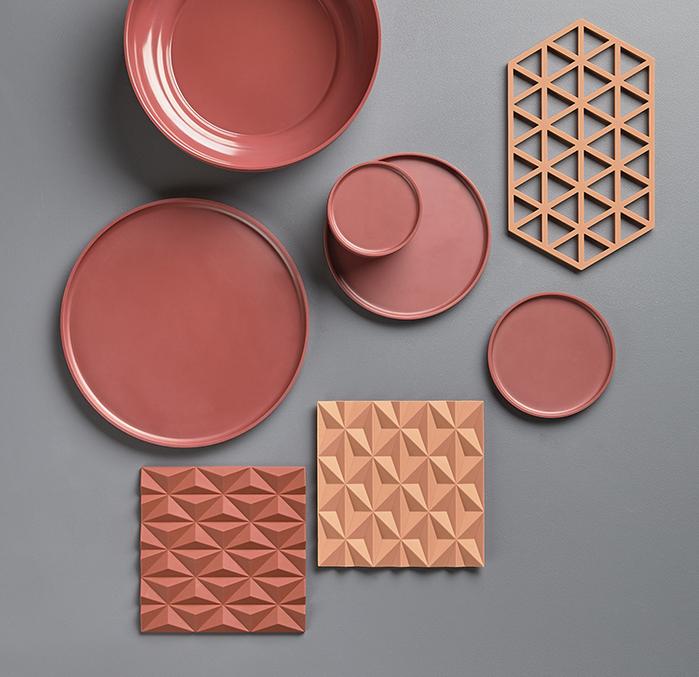 (複製)Zone Denmark|3D折紙FOLD隔熱墊(灰)