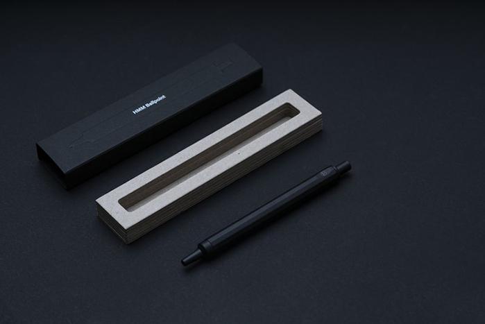 HMM|原子筆 - 霧黑色