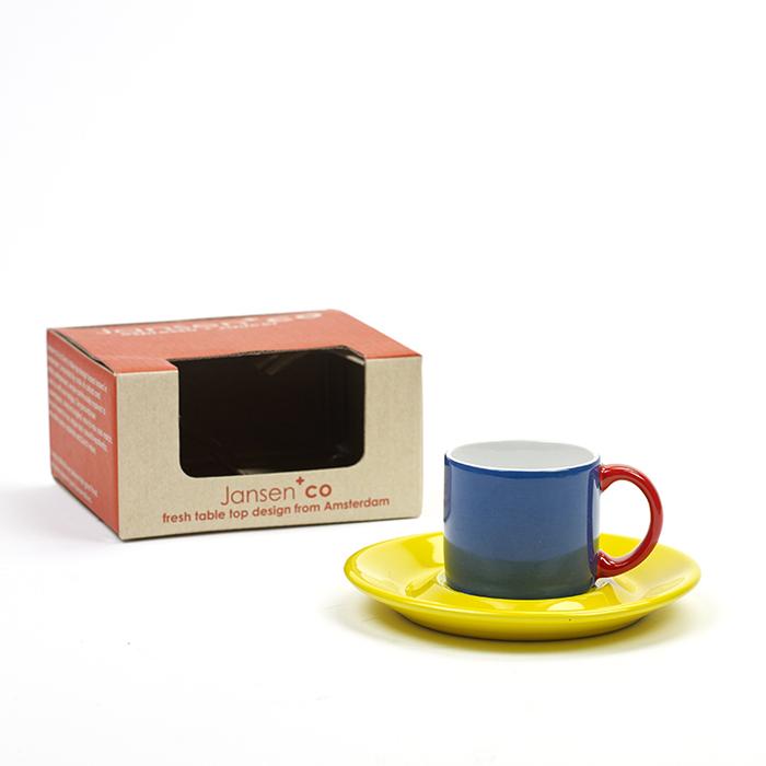 (複製)SERAX|Jansen+co單色馬克杯-黃
