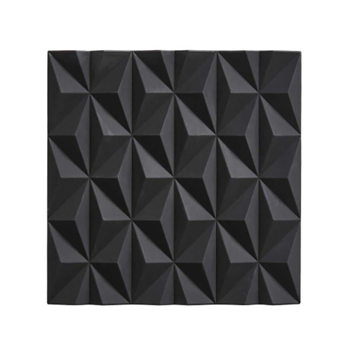 Zone Denmark|3D折紙BEAK隔熱墊(酷黑)