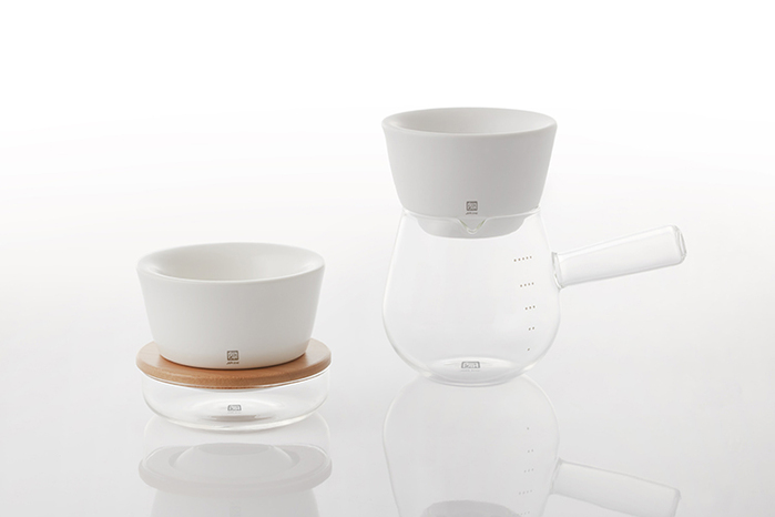 (複製)JIA Inc.|手沖咖啡 雙層陶瓷濾杯(蛋糕濾杯)─黑色