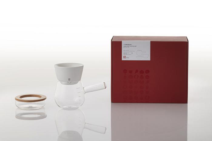 JIA Inc.|手沖咖啡  蛋糕濾杯全套禮盒組─白色