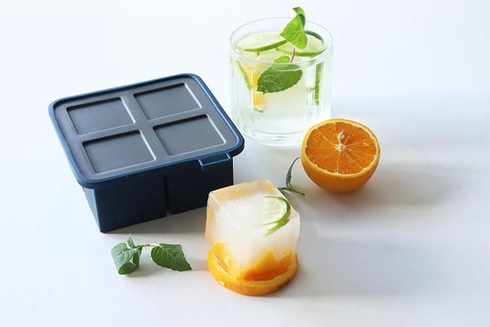 rabbit|巨型方塊製冰盒(四格) ─ 酷藍