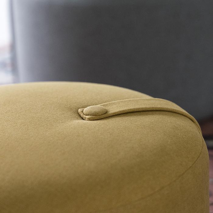 Design Bite|泡芙座椅-檸檬黃