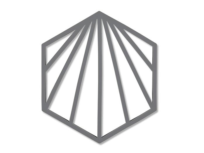 Zone Denmark|貝殼造型隔熱墊─灰