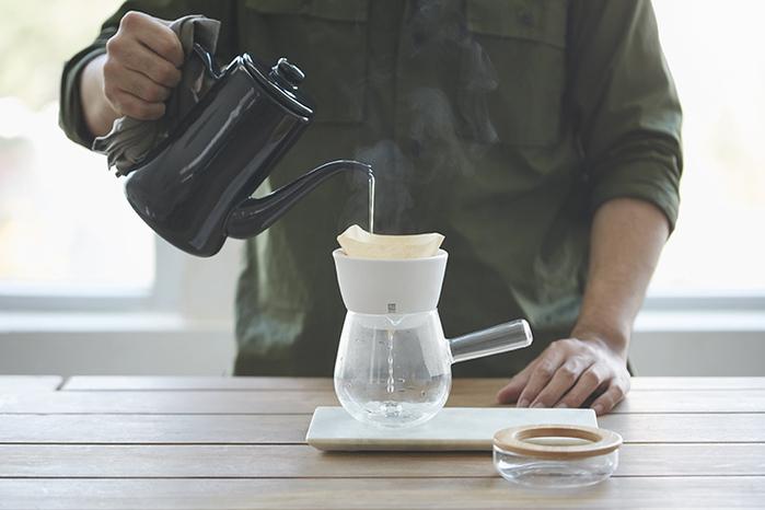 (複製)JIA Inc.|手沖咖啡 雙層陶瓷濾杯(蛋糕濾杯)─白色