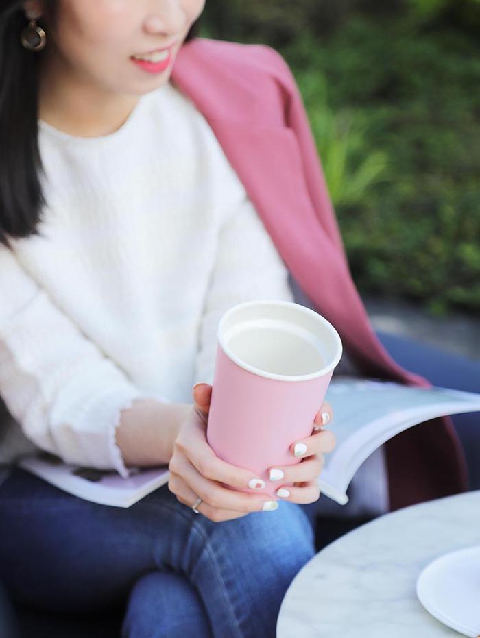 JIA Inc.|虹彩鋼 雙層隨行杯350ml─ 粉紅色