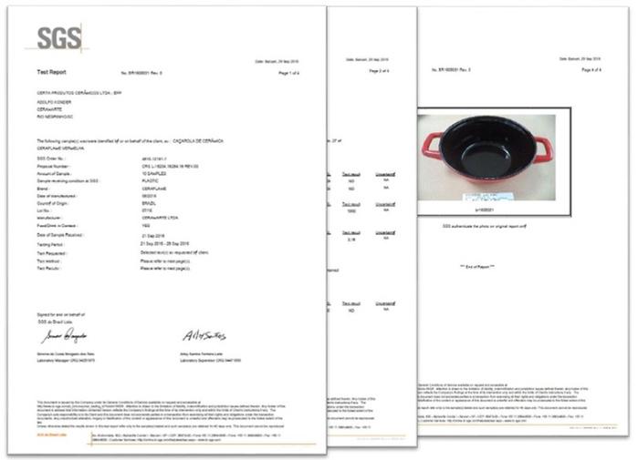 JIA 家|晶釉瓷 雙耳湯鍋24cm ─ 紅色