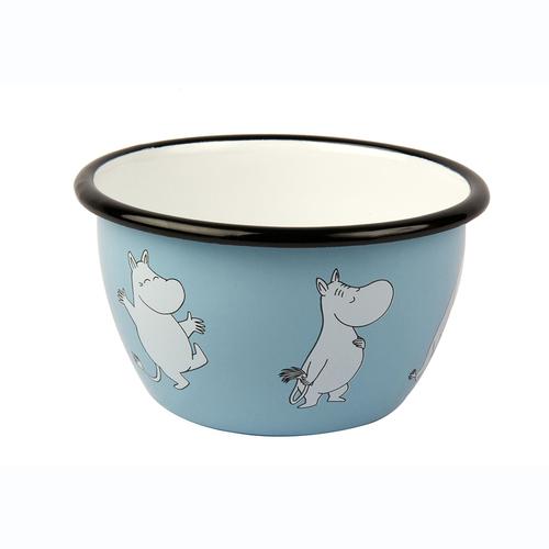 Muurla|嚕嚕米系列 - Moomin琺瑯碗(淡藍)600cc