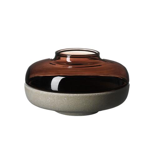 JIA Inc.|燈華燭台-6cm(茶色)
