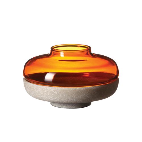 JIA Inc. 燈華燭台-6cm(琥珀色)