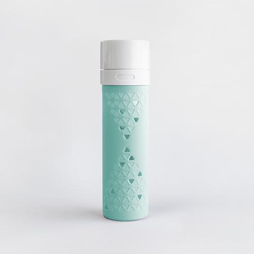 SANS|真空果汁玻璃瓶480ml (薄荷綠)
