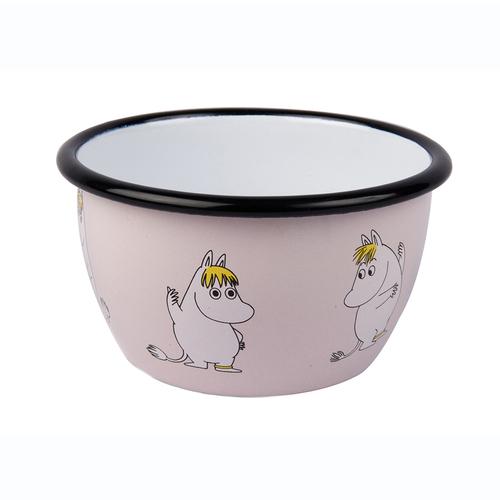 Muurla|嚕嚕米系列 - 可兒琺瑯碗(粉紅)600cc