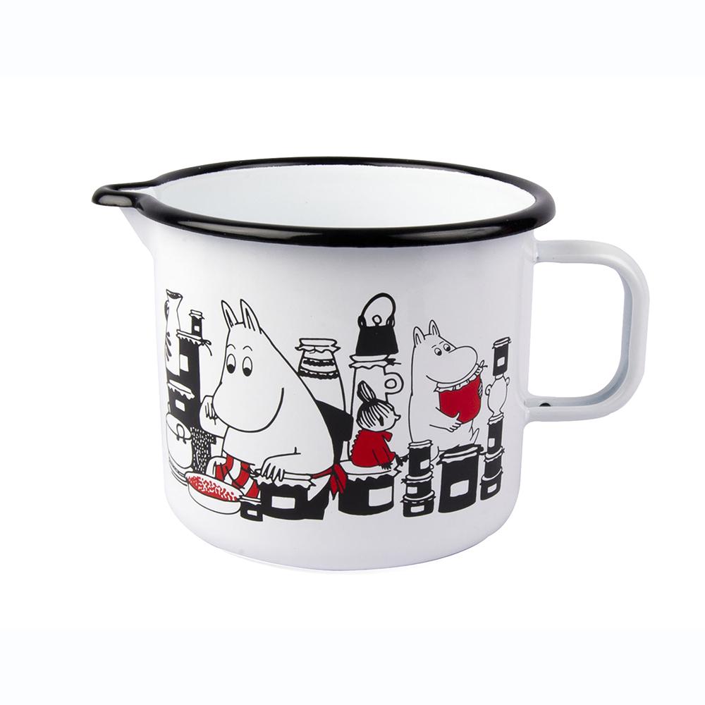 Muurla|嚕嚕米系列 - Moomin琺瑯水壺(白)1.3L