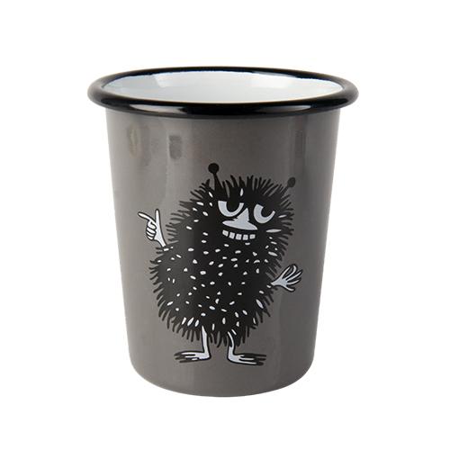 Muurla|嚕嚕米系列 - 阿丁琺瑯水杯(灰)400cc