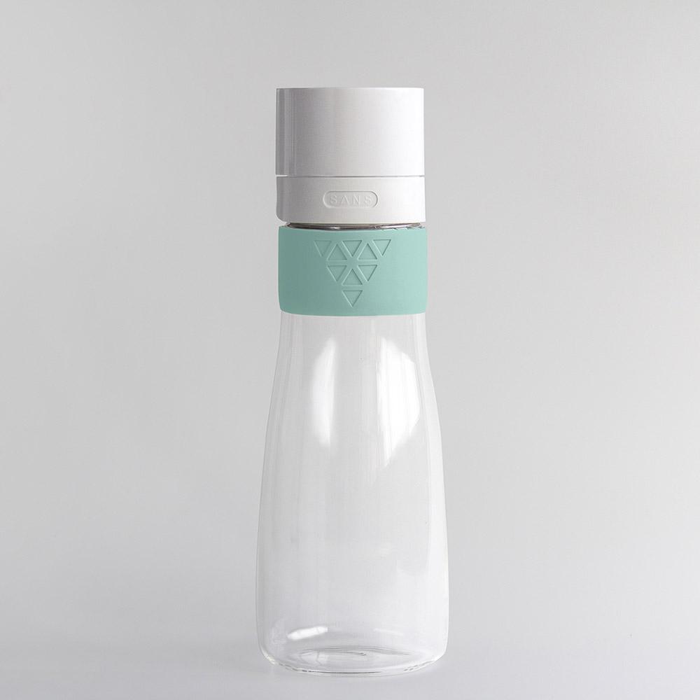 SANS|真空果汁玻璃瓶950ml (XL加大版)-綠