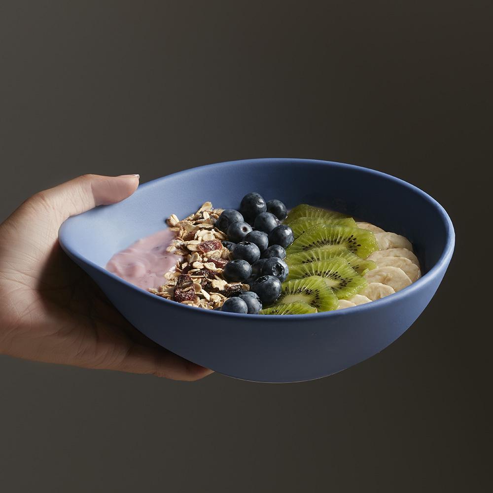JIA品家|碗筷系列瓢碗-大(藍)