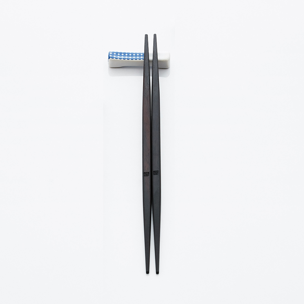 JIA Inc.|碗筷系列木筷+筷架一雙入(圓點)