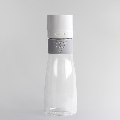 SANS|真空果汁玻璃瓶950ml (XL加大版)-灰