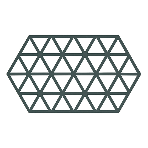 Zone Denmark|幾何格紋TRIVETS隔熱墊(仙人掌綠)