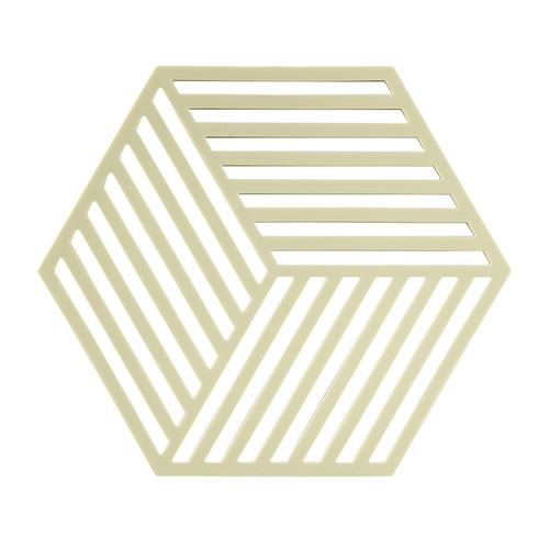 Zone Denmark|菱型條紋TRIVETS隔熱墊(萊姆)