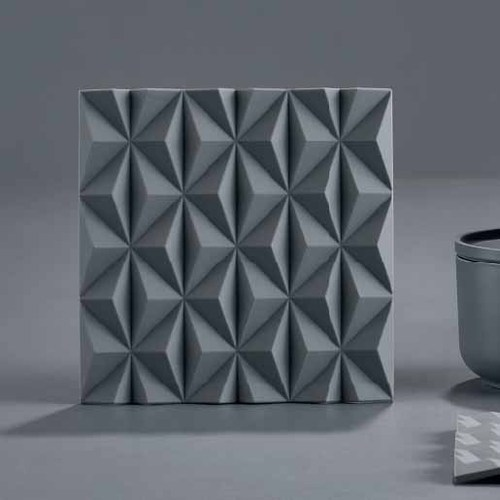 Zone Denmark|3D折紙FOLD隔熱墊(灰)