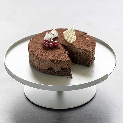 Design Bite|單層蛋糕架-象牙白