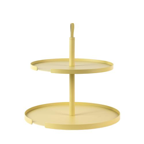 Design Bite|雙層蛋糕架-檸檬黃