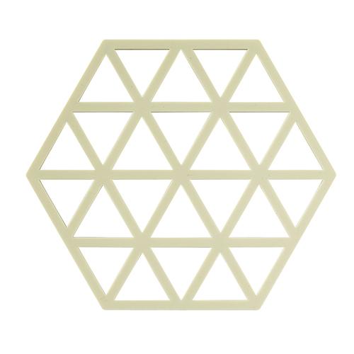 Zone Denmark|菱型格紋TRIVETS隔熱墊(萊姆色)