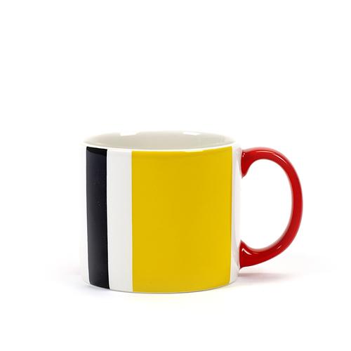SERAX|Jansen+co直條紋馬克杯-黃黑